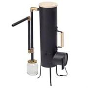 Дымогенератор ворон 10 литров с вентилятором фото