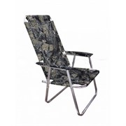 Кресло шезлонг алюминиевое №3 Медведь фото