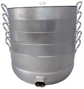 Электромантоварка праздничная 6 сеток 15 литров УЗБИ