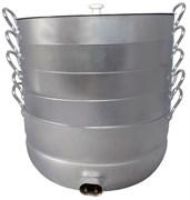 Электромантоварка праздничная 4 сетки 15 литров УЗБИ