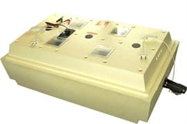 Инкубатор Золушка 98 яиц, автопереворот, 220/12В, аналоговый терм., гигрометр