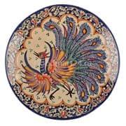 Ляган Риштанская Керамика 32 см. плоский, Жар-Птица купить